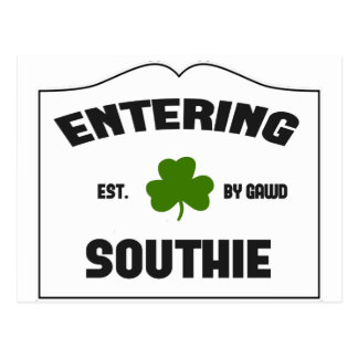 Southie que entra postales