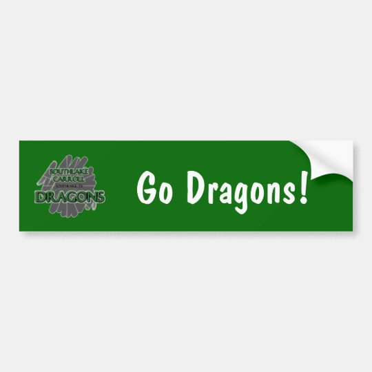 Southlake Carroll Dragons - Southlake, TX Bumper Sticker