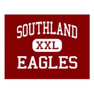 Southland - Eagles - High School - Southland Texas Postcard