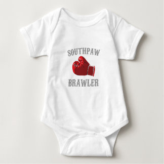 southpaw brawler baby bodysuit