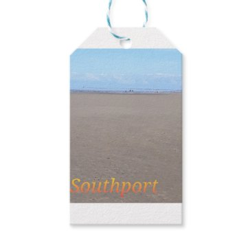 Beach Themed Southport Beach Gift Tags