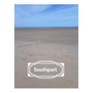 Southport Beach Postcard