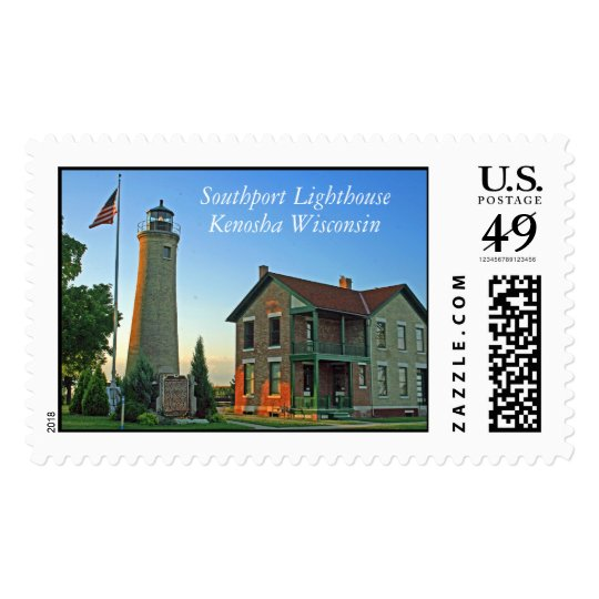 Southport Lighthouse, Kenosha Wisconsin Postage