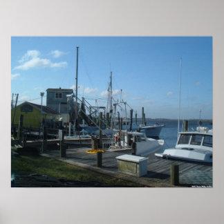 Southport, North Carolina - Fishing Boats (2005) Poster