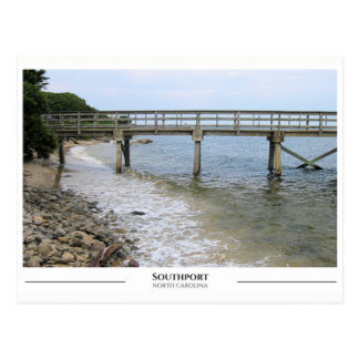 Southport North Carolina Postcard