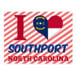 Southport, North Carolina Postcard