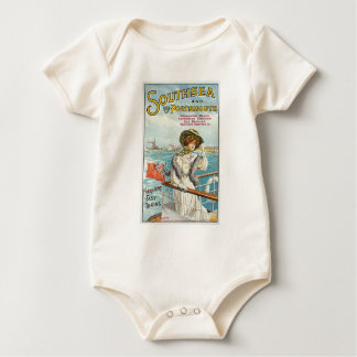 Southsea and Portsmouth Baby Bodysuit