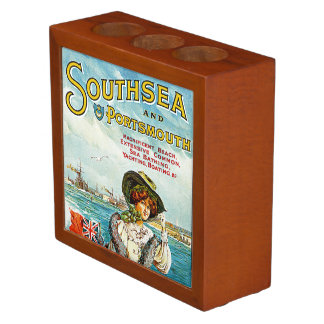 Southsea and Portsmouth Desk Organizer