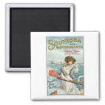 Southsea Portsmouth UK Vintage Travel Poster Art Magnets
