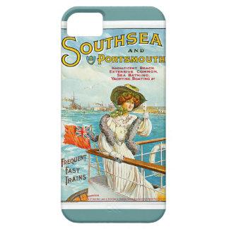 Southsea y anuncio del viaje del vintage de iPhone 5 carcasas