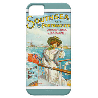 Southsea y anuncio del viaje del vintage de iPhone 5 fundas