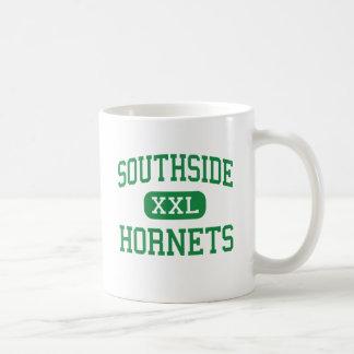 Southside - avispones - alto - Elmira Nueva York Taza Básica Blanca
