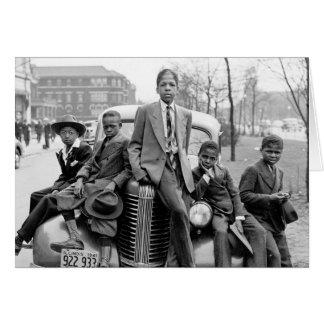 Southside Boys, 1941 Greeting Card