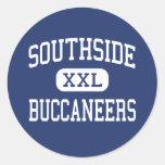 Southside - Buccaneers - Junior - Denham Springs Round Sticker
