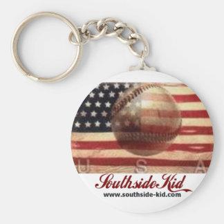 Southside Kid Americana Keychain