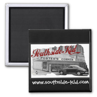 Southside Kid Square Car Magnet