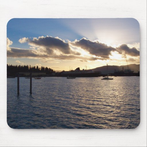 Southside Moorage Mouse Pad