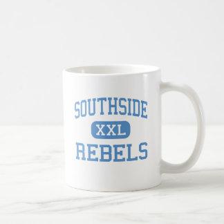 Southside - rebeldes - alto - Fort Smith Arkansas Taza Básica Blanca