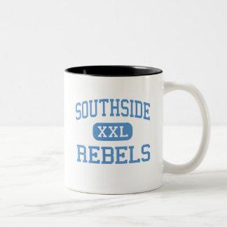 Southside - rebeldes - alto - Fort Smith Arkansas Taza Dos Tonos