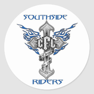 "Southside Riders 3"" Sticker"