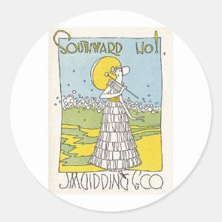 Southward Ho Classic Round Sticker