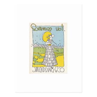 Southward Ho Postcard