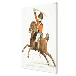 Southwark Cavalry Volunteer, plate 6 from 'Loyal V Canvas Print