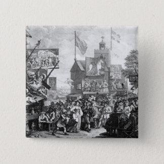 Southwark Fair, 1733 Button