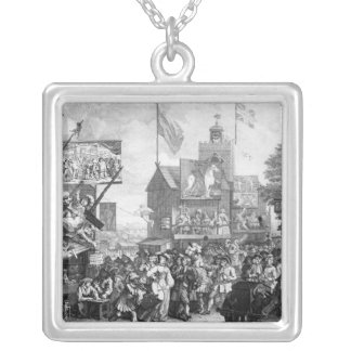 Southwark Fair, 1733 Silver Plated Necklace