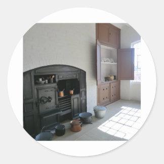 Southwell Workhouse Kitchen Classic Round Sticker