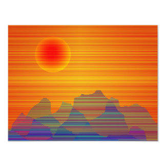 Southwest 4.25x5.5 Paper Invitation Card