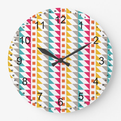 Southwest Abstract Clock