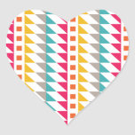 Southwest Abstract Heart Sticker