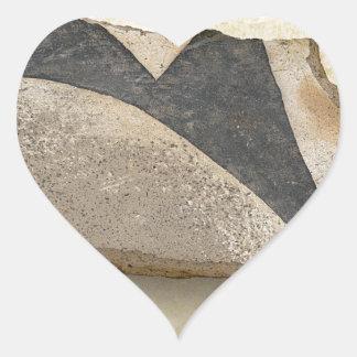 Southwest Ancient Anasazi Native American Pottery Heart Sticker