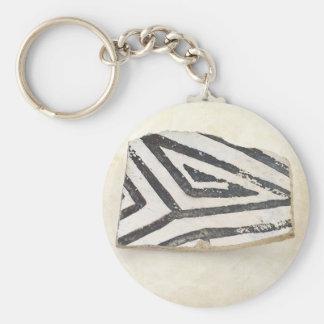Southwest Ancient Anasazi Native American Pottery Keychain