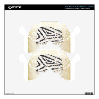 Southwest Ancient Anasazi Native American Pottery PS3 Controller Decals
