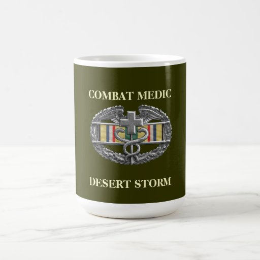 Southwest Asia Campaign Ribbon Background CMB Mug