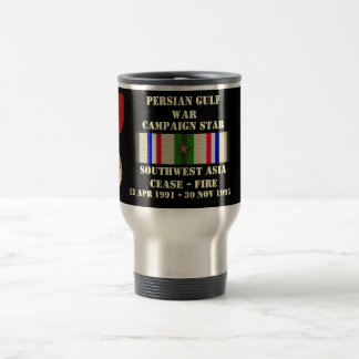 SOUTHWEST ASIA CEASE - FIRE CAMPAIGN TRAVEL MUG