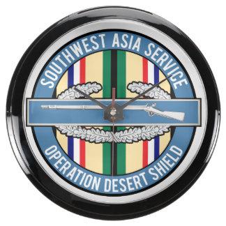 Southwest Asia CIB Aquavista Clocks