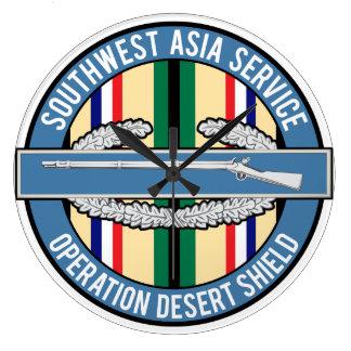 Southwest Asia CIB Wall Clock