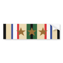 Southwest Asia Military Ribbon Bumper Sticker