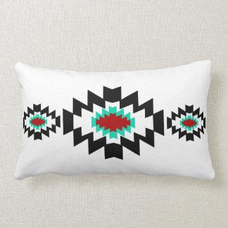 Southwest Aztec Native American Tribal Design Lumbar Pillow