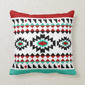 Southwest Aztec Native American Tribal Design Throw Pillow