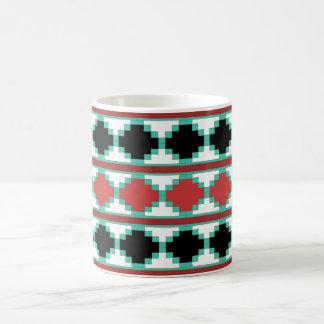 Southwest Aztec Tribal Indian Design Coffee Mug