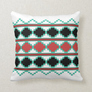 Southwest Aztec Tribal Indian Design Throw Pillow
