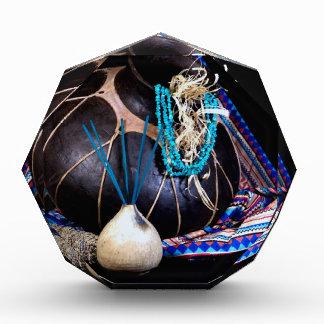 Southwest Black Pot Incense Turquoise Necklace Award