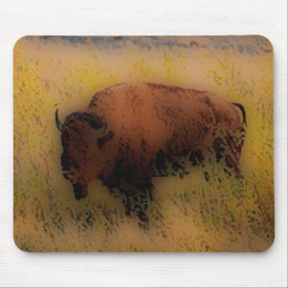 Southwest Buffalo of the Prarie Mousepads