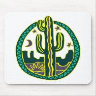 Southwest Cactus Mouse Pad