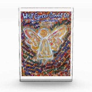 Southwest Cancer Angel Custom Paperweight