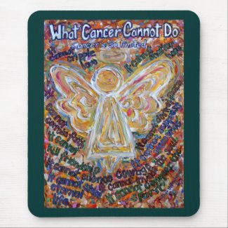 Southwest Cancer Angel Mousepad